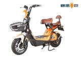 48V 500W14는 모터 LED 헤드라이트 3 속도 전기 자전거 장거리 정면 바구니 디스크 브레이크 Tubless 타이어를 조금씩 움직인다