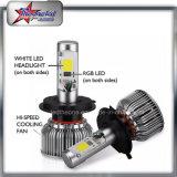 H4 LED RGB Scheinwerfer für Auto-hohen niedrigen Träger