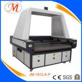De Machine van Cutting&Engraving van de Laser van het panorama met Asynchrone Hoofden (JM-1812h-bij-p)