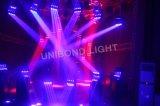 Sehr große bewegliche Hauptstadiums-Beleuchtung der Wellen-16PCS*25W LED und Disco-Licht