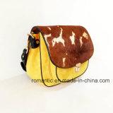 Signora Suede di disegno di modo e borse trasversali di cuoio della pelliccia (NMDK-061004)