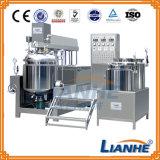 Mezclador de emulsión de la máquina del vacío poner crema cosmético para el producto de belleza