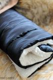 Qualitätsentwurfs-Haustier-Betten korallenrote Fleee quadratische Haustier-Kissen
