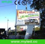 フルカラーP10 LEDのビデオ映画広告の屋外の掲示板