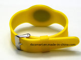 Silicones du bracelet Lf/Hf/UHF d'IDENTIFICATION RF suivant le bracelet de taille ajustable pour Childer/adulte