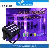 Luz do rádio da bateria 12PCS de WiFi da PARIDADE do diodo emissor de luz da alta qualidade mini