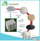 Tapume da placa do cimento do Paneling/estuque da parede da placa branca