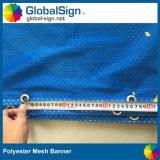Vente chaude ! Bonne drapeau estampé de tissu de maille de polyester de teinture des prix de quantité meilleure par sublimation