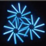 indicatore luminoso capo mobile del fascio del reticolo LED del Gobo di 120W RGBW 4in1