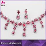 Reeks van de Juwelen van het Witgoud van Doubai van het Huwelijk van de Leverancier van de Fabriek van China de Arabische
