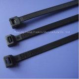 Связи кабеля с черной пропиткой 9 x 1200mm Nylon пластичные