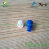 Empacotamento personalizado fechamento do OEM azul do bujão/Luer de Combi