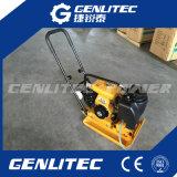 Compactor плиты газолина двигателя Robin с цистерной с водой и колесами