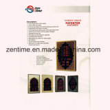 熱い販売のAzanアラーム柱時計を話す電気LEDデジタルのイスラム教の祈り