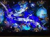 El juego de fichas Igs de la ranura de la máquina de juego del cazador de los pescados del dragón del fuego