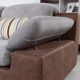 O sofá moderno da mobília do melhor preço ajustou-se para a sala de visitas (FB1121)