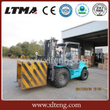 Forklift de China especificação do Forklift do terreno áspero de 3 toneladas