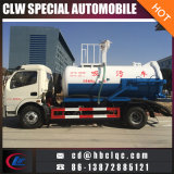 Dongfeng 5000L Sprinkle à l'eau Aspirateur de vide sélectif à vide