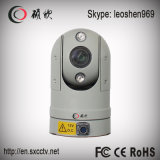 câmara de vigilância do zoom 2.0MP HD IR PTZ da visão noturna 30X de 80m para o carro de polícia