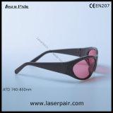 780-830nm IR Lb6-のAlexandriteおよびダイオードのレーザーの安全ガラス/Goggles