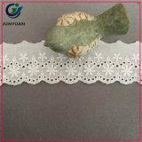 綿布の刺繍のレースを販売する製造業者