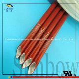 """Sleeving revestido da fibra de vidro do silicone de Sunbow 1/2 """" 13mm"""