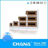 Tipo elétrico ao ar livre caixa da potência portátil material do ABS de distribuição do ferro
