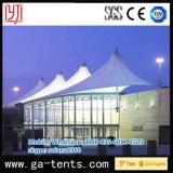 Tienda extensible blanca del pabellón de la tienda de la estructura de la membrana de PVDF