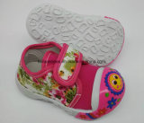Latesetの方法PVC唯一の子供の赤ん坊靴の幼児靴(HH17621-4)