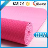 Couvre-tapis de yoga de glissade du prix de gros d'usine non/couvre-tapis de forme physique par GV Certicated