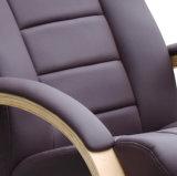 가죽 나무로 되는 기초 텔레비젼은 오토만을%s 가진 Reliner 의자를 이완한다