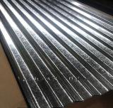 Hoja de acero revestida del cinc acanalado superventas de la INMERSIÓN caliente 2017 para el material para techos