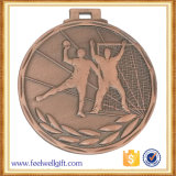 亜鉛合金の青銅によってめっきされる3Dソフトボールメダル