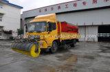 LKW hing Sand-Salz Schnee-Schmelzen Agens-Spreizer-Zufuhrbehälter ein