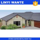 石の上塗を施してある金属の屋根瓦のナイジェリア様式