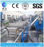 Plástico de la alta calidad que se lava reciclando la máquina