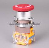 Emergency Keilnute-Drucktastenschalter mit Bohrung 22mm