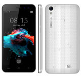 Couleur de blanc de smartphone d'appareil-photo de ROM 3000mAh 8MP du RAM 8GB du faisceau 1GB de la quarte Mt6580 de l'androïde 6.0 de pouce HD de Homtom Ht16 3G WCDMA Smartphone 5.0