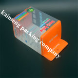 Caixa plástica desobstruída de dobramento relativa à promoção por atacado do Alimentar-Frasco do pacote com punho (alimentar-frasco)