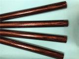 Lámina para gofrar caliente para el papel de aluminio de la cartulina del rectángulo plástico Gold/&Silver de Fumo