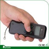 De handbediende Mobiele Scanner Ms3398 van de Streepjescode voor Wms, de Controle van de Inventaris, komt met LCD de Punten van het Scherm 128X64