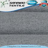 Tessuto a spugna Francese dello Spandex del poliestere 5% del cotone 20% dell'indaco 75% lavorato a maglia