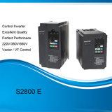 Tipo general mecanismo impulsor de S2800e del motor de la frecuencia Inverter/AC para Extuder