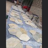 Amarelo natural / Verde / Cinza / Rustic / Black Quartzite Slate Tile