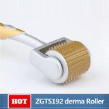 Изготовления ролик Zgts Microneedle Derma прямых связей с розничной торговлей 192 Titanium иглы Dermaroller