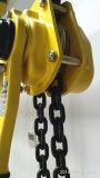 Máquina manual da grua/do levantamento da polia Chain de 6 toneladas feita em China