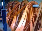 Cinghia di trasmissione piana del cavo di gomma del cotone per la macchina
