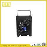 4PCS * 12W 6in1 RGBWA UV + Batería de carga y WiFi LED PAR