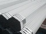 Pipes galvanisées de structure métallique de Gi de l'IMMERSION Q235 chaude pour la serre chaude