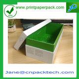 Rectángulos de zapato rígidos prácticos de la cartulina del OEM que empaquetan el rectángulo de papel del rectángulo